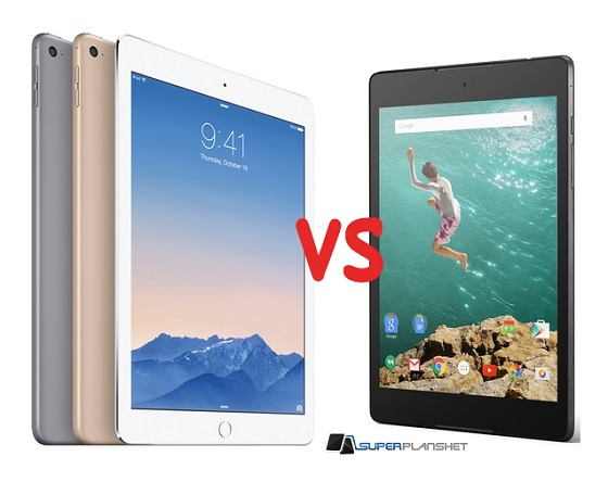Apple iPad Air 2 vs Nexus 9 2
