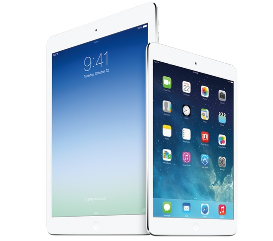 Apple iPad Air and mini