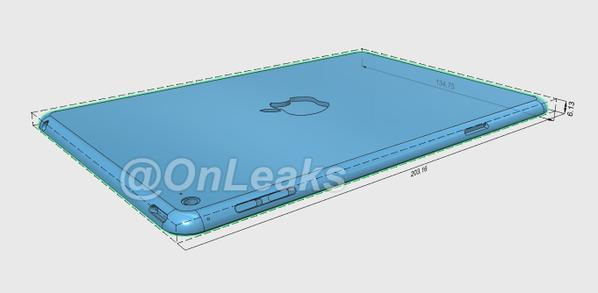 Apple iPad Mini 4 renders2