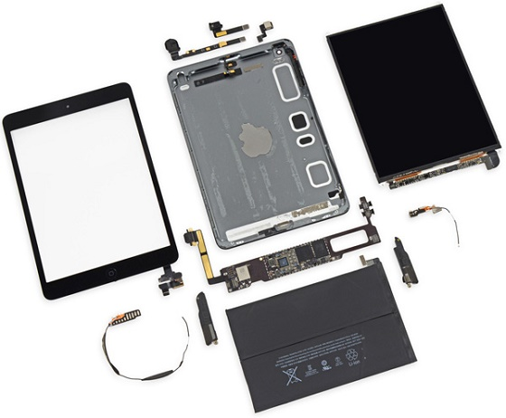 Apple iPad mini 2 Retina ifixit 4