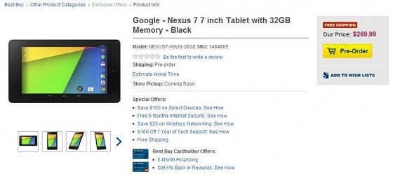 Google Nexus 7 new12
