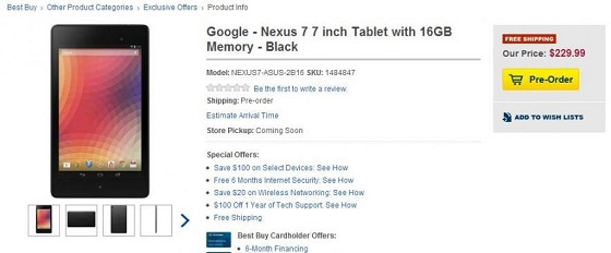 Google Nexus 7 new13