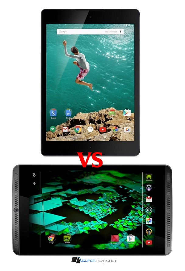 Google Nexus 9 vs Nvidia Shield Tablet 1