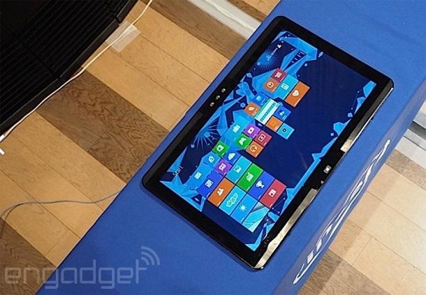 Представлен прототип настольного планшета Intel Black Brook