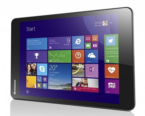 Windows-планшет Lenovo MIIX 3-8 появится в России в ноябре