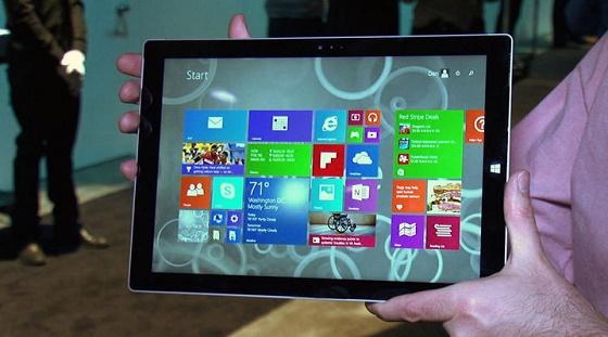 Microsoft разрабатывает крупные планшеты Surface Pro