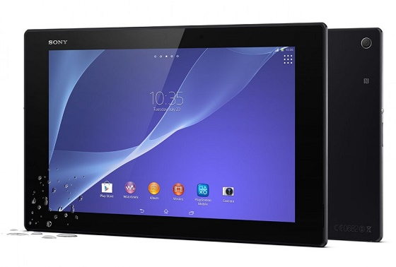 Sony Xperia Z2 Tablet off