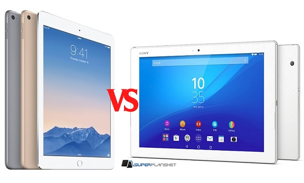 Sony Xperia Z4 Tablet vs iPAD Air 2