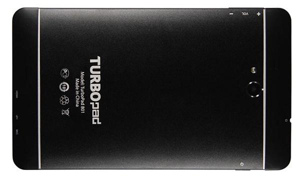 3G-планшет TurboPad 801 вышел в продажу за 6 990 рублей