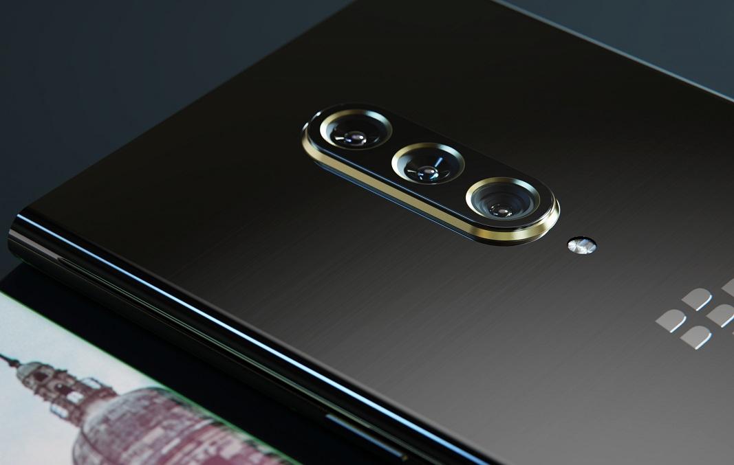 Новый смартфон BlackBerry продемонстрирован на качественных рендерах