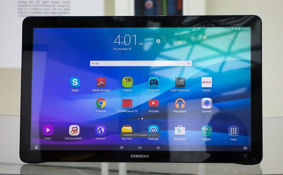 Samsung готовит к выходу второе поколение огромного планшета Galaxy View изображение