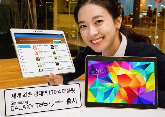 Анонсирована обновленная версия планшета Samsung Galaxy Tab S 10.5
