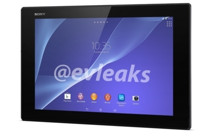 Sony Xperia Tablet Z2 press photo