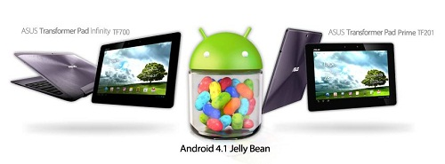 TF201 and TF700 update Android 4.1 Jelly_Bean